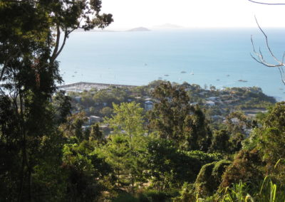Airlie from Mt Whitsunday